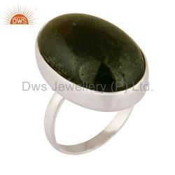 Handmade 925 Silver Natural Gemstone Rings