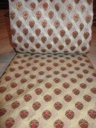 Pure Chanderi Silk Brocade Fabric