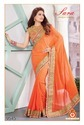 Exclusive Elegant Beautiful Chiffon Saree