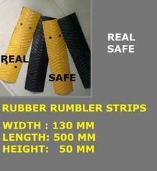 Rubber Rumbler Strips