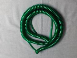 04 Sq Mm  PUR Spiral Cable