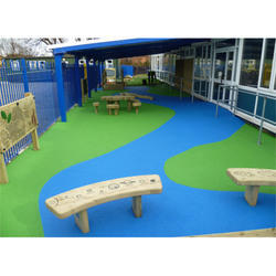 Play Area Wooden Flooring Services