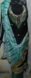 Ladies Gota Patti Suit Material