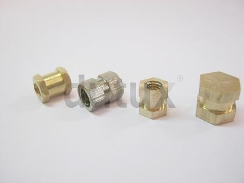 Brass Hex Insert Nut