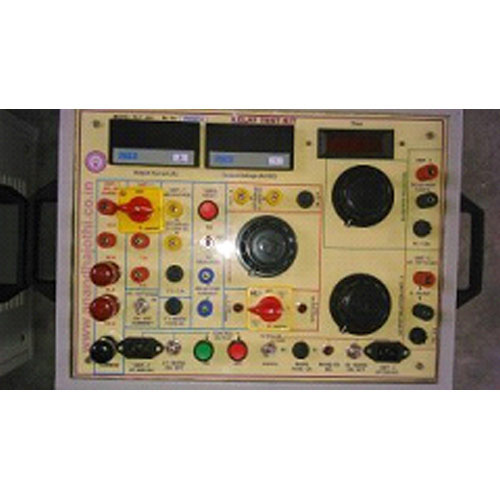 Test Kits Over Current Relay Test Kit Manufacturer from Chennai