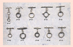 Sterling Silver Spacers &  Washer Code: SSB-04