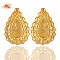 Designer Brass Studs Earring