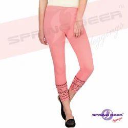 Girl's Printed Leggings