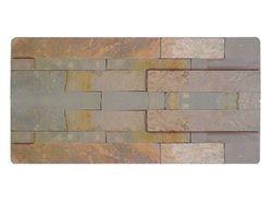 Rusty Slate Ledges Stone Cladding Panels