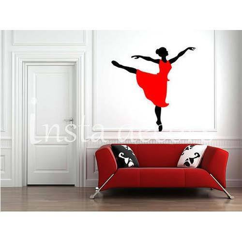 Dancing Lady Wall Decals