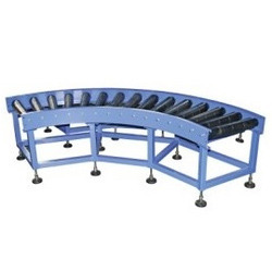 Curve Gravity Roller Conveyors