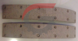 Brake Lining Kit, 4 Pc, W/ Rivits