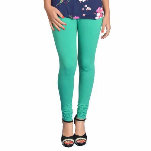 Green Women Legging