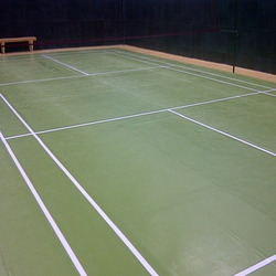 Badminton Synthetic Flooring