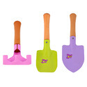 Set Of 3 Kids Garden Tools Set