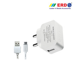 TC 27 Micro USB White Charger