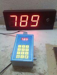 Digital Display Token System