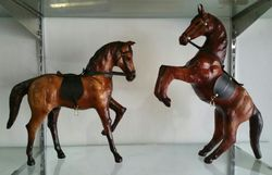 Leather Animal Figures & Statues