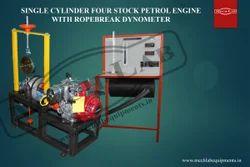 Single Cylinderfour Stroke Air Cooled Petrol Engine Test Rig