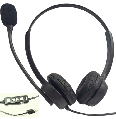 AR 18N Binaural Noise Cancelling Headset-USB