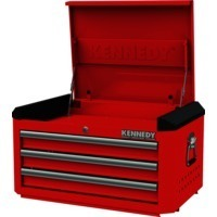 Red-28 3 Drawer Top Chest