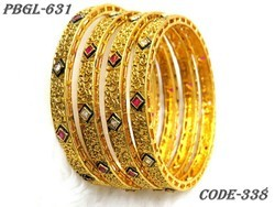 New Fancy Designer Polki Bangles