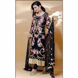 Printed Churidar Suit