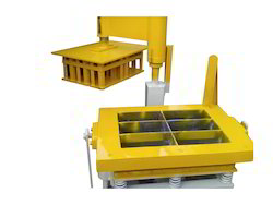 Manual Block Making Machine 6 Cavity