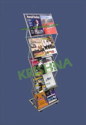 Zig Zag Stand  or 10 Type Catalogues
