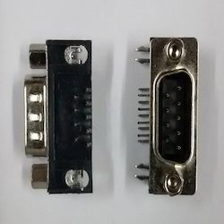 9- Pin- D Type- Male- Connector