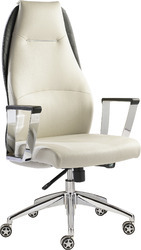 Stylish Look White Executive Chair