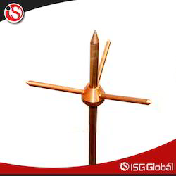 Copper Air Termination Rod
