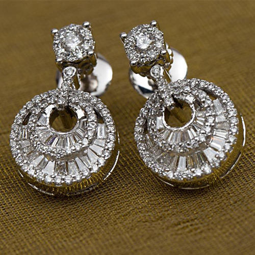 Real Diamond Women Earrings Diamond Earrings