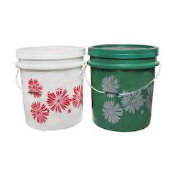 Plastic Buckets for Distemper