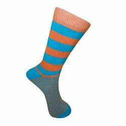 Striped Terry Socks