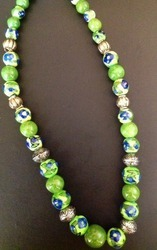 Pottery Beads Necklace
