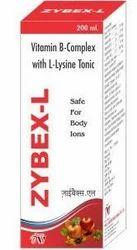 Vitamin B Complex and L-Lysine Tonic
