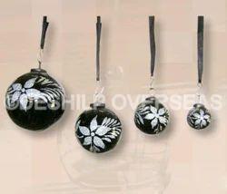 Black Color Christmas Ornaments