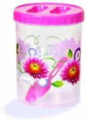 Plastic Printed Round Container 500ml
