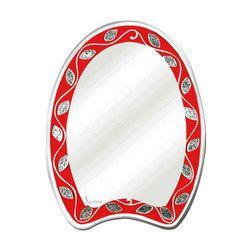 Prayosha Bathroom Mirror - Red