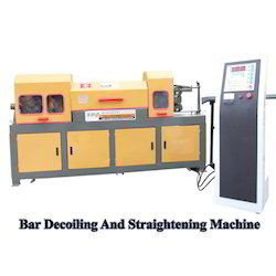 Bar Decoiling and Straightening Machine