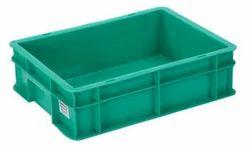 Green Plastic Crates