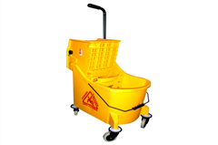 Wringer Trolley with partition