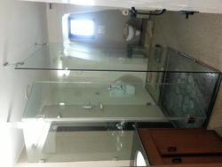 Glass Shower Fitting