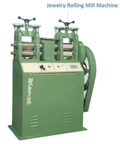 Kundan Rolling Mill Machine (Jewellery Making 4 inch)