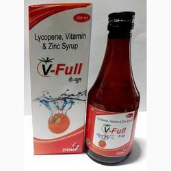 Lycopene, Vitamin & Zinc Syrup
