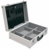 Silver Aluminum Tool Case