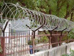 Pyramid Concertina Wire