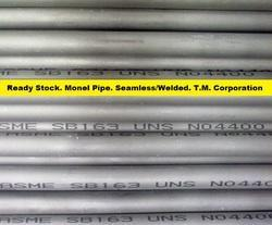 Monel 400 ERW Welded Pipes