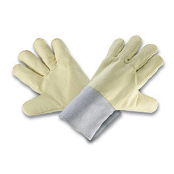 Dupont Kevlar Palm & Back Kev, Cuff With Made Of Leather